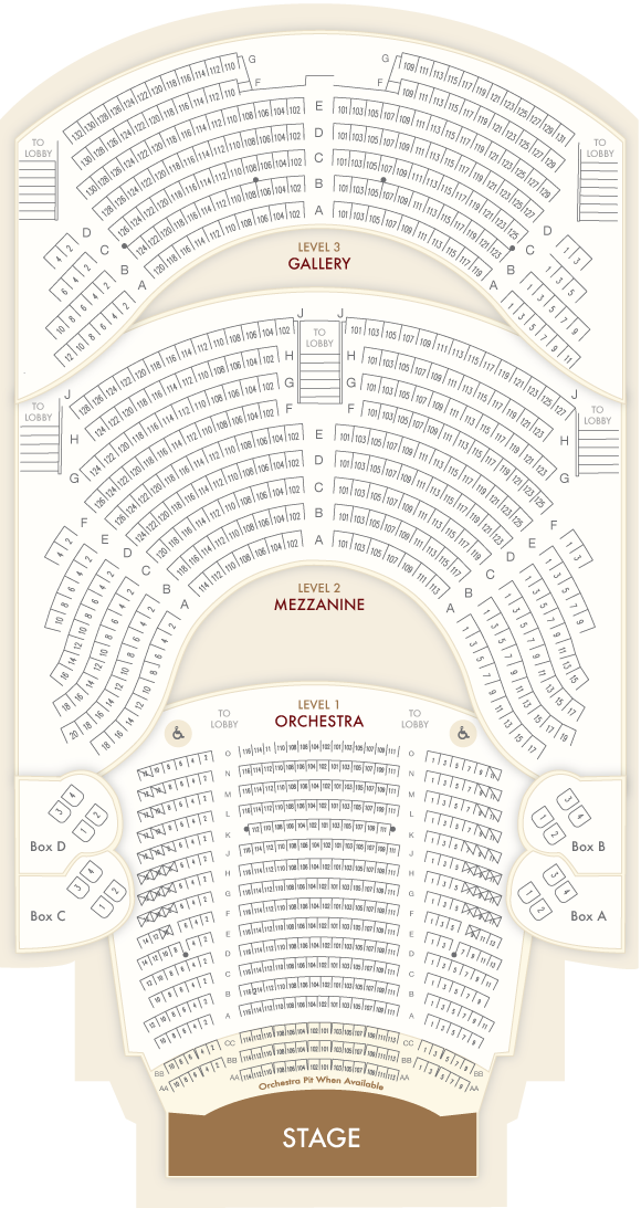 Opera House Floor Plan