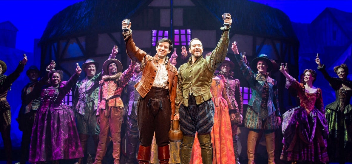 More Info for Something Rotten! Opening Night